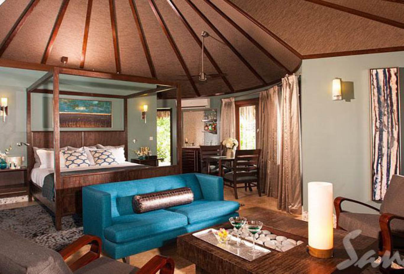 South Seas Grande Rondoval Butler Suite with Private Pool Sanctuary - RD 2