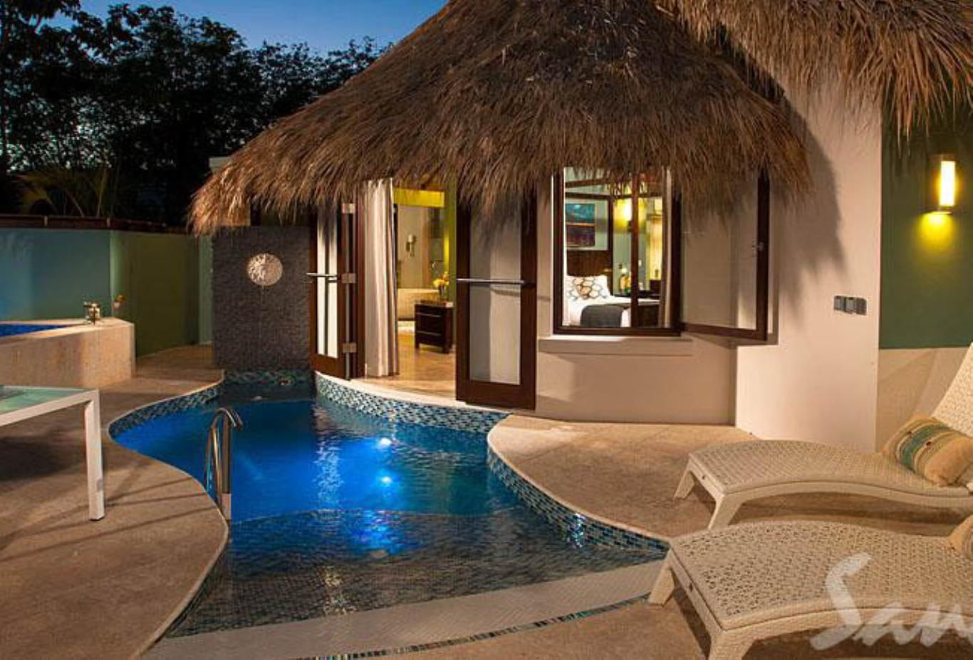 South Seas Grande Rondoval Butler Suite with Private Pool Sanctuary - RD