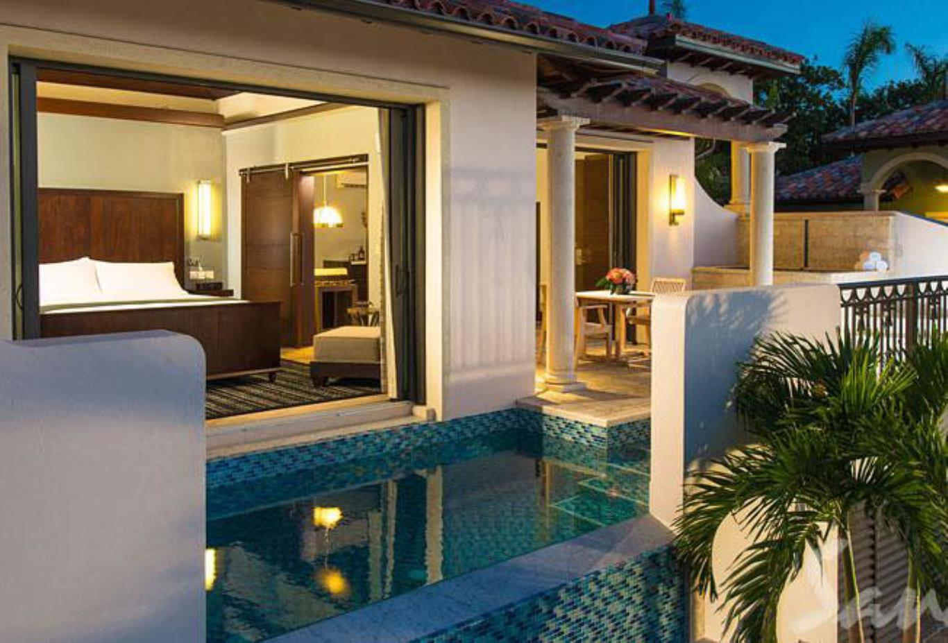 South Seas One Bedroom Butler Suite with Infinity Edge Pool - M1P