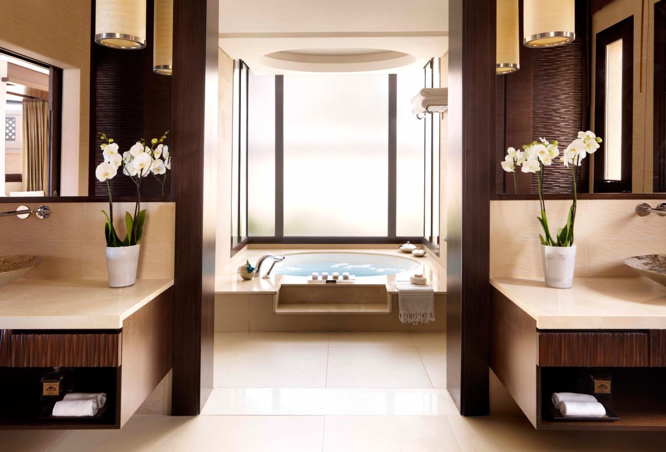 One Bed Beach Villa Bathroom