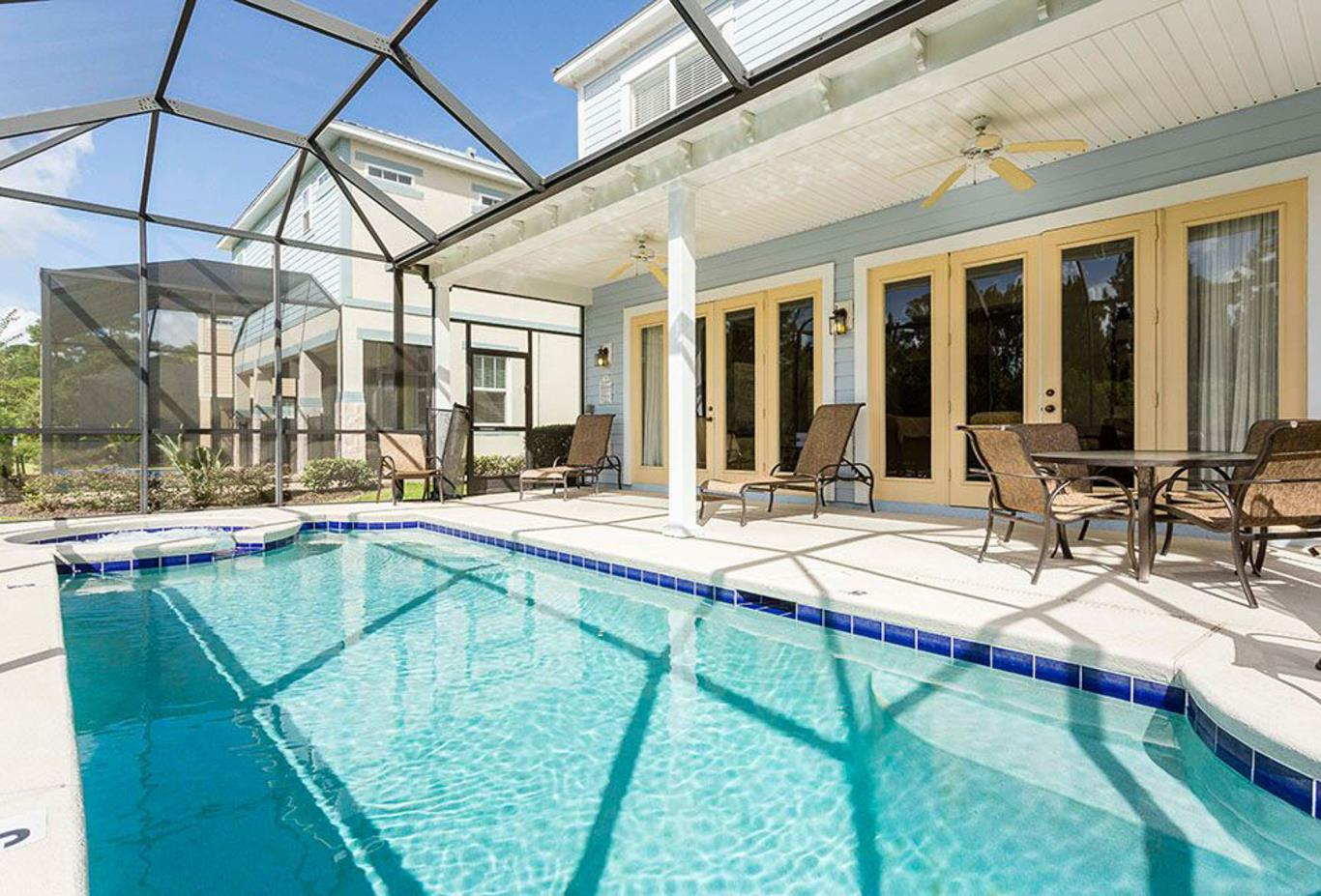 Four Bedroom Home - pool