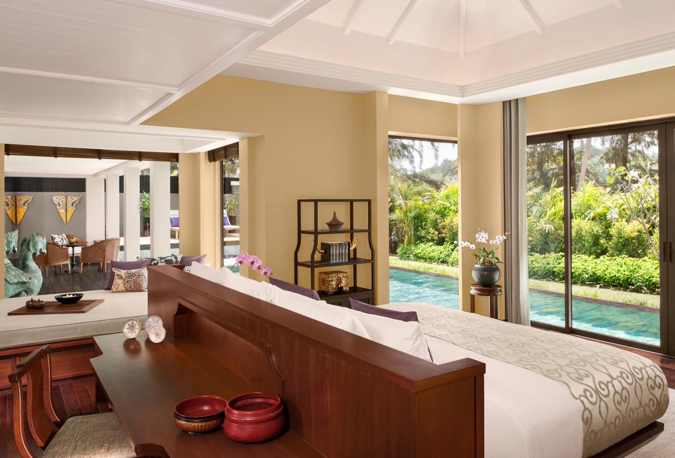 Anantara Pool Villa Master Bedroom