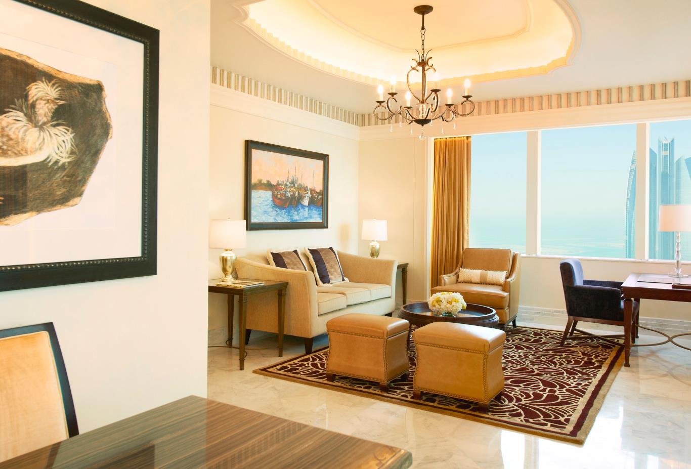 St Regis Suite living room