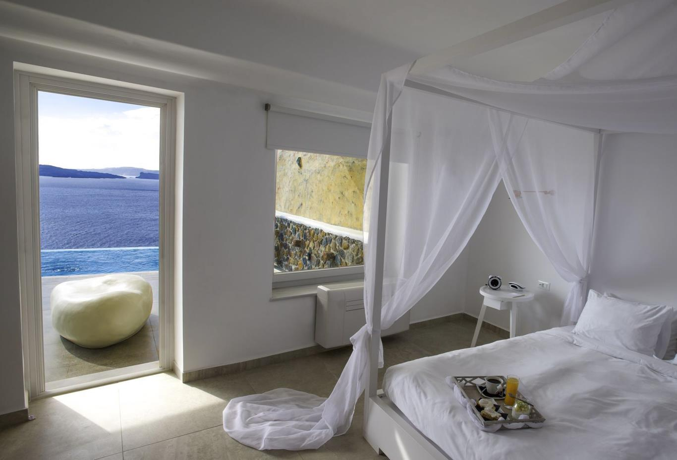 Infinity Suite bedroom