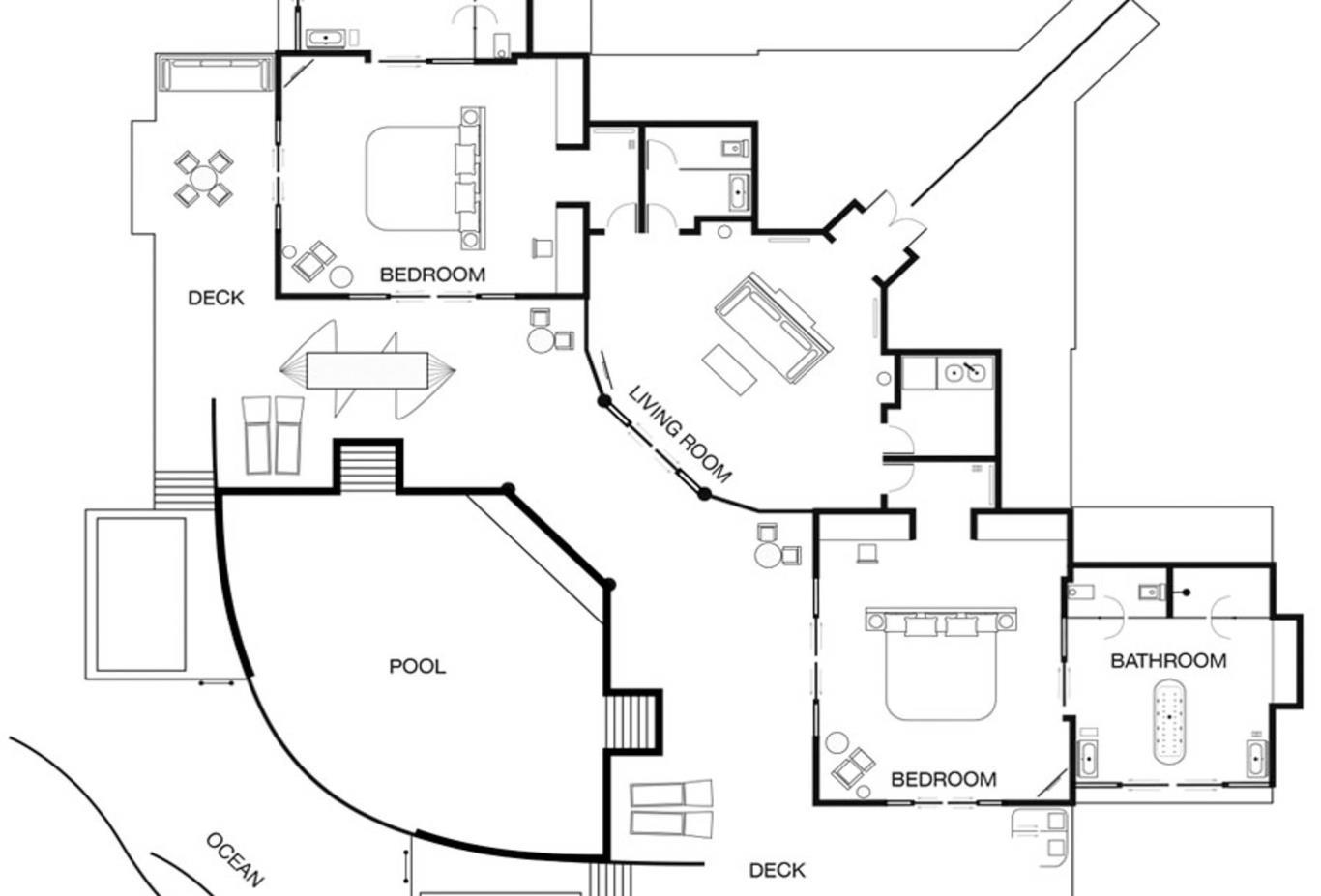 Grand Water Suite Floorplan