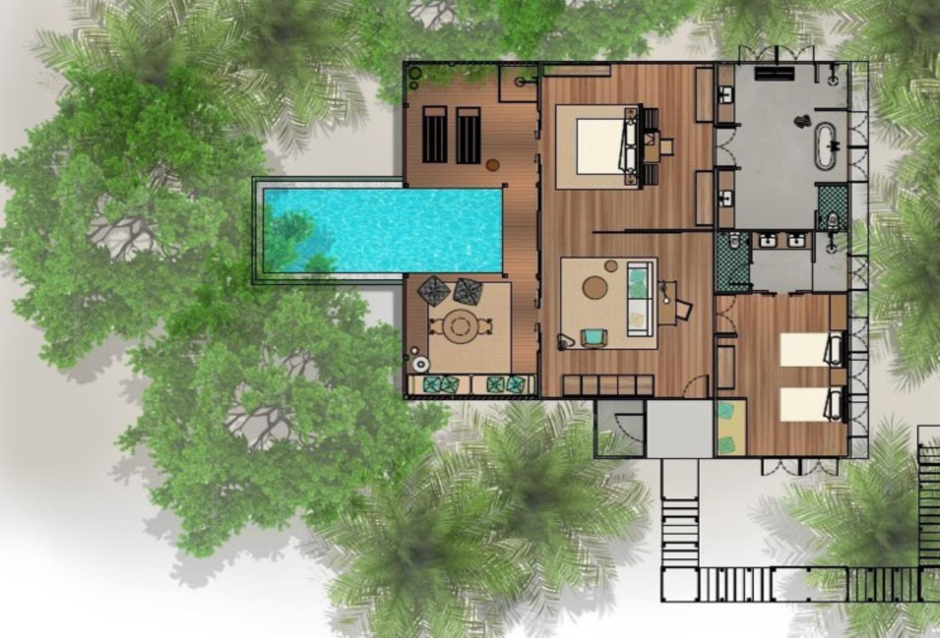 Floorplan Tree House Wellness