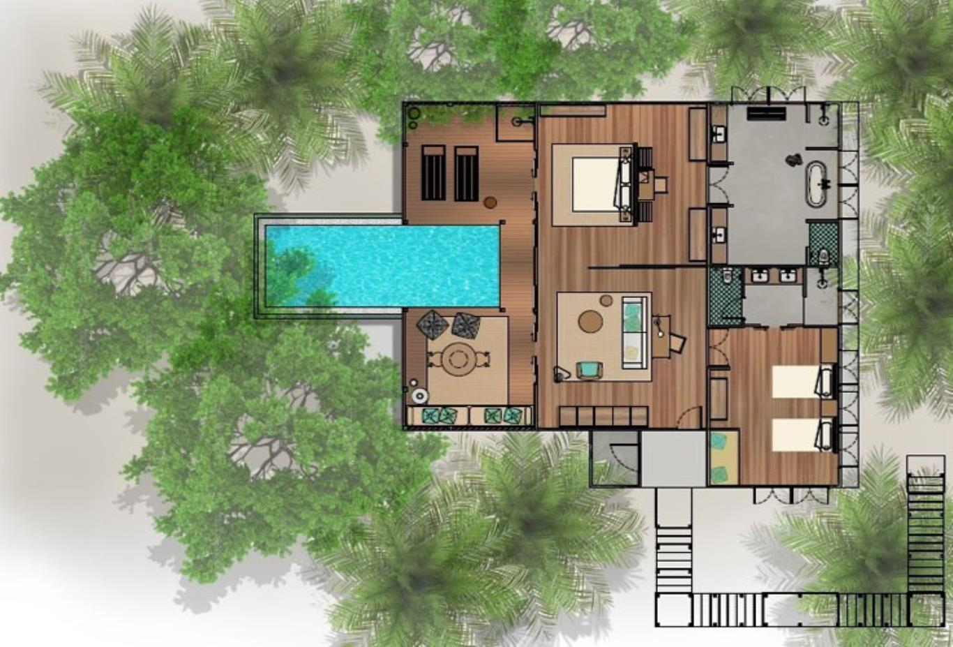 Floorplan Wellness Tree House