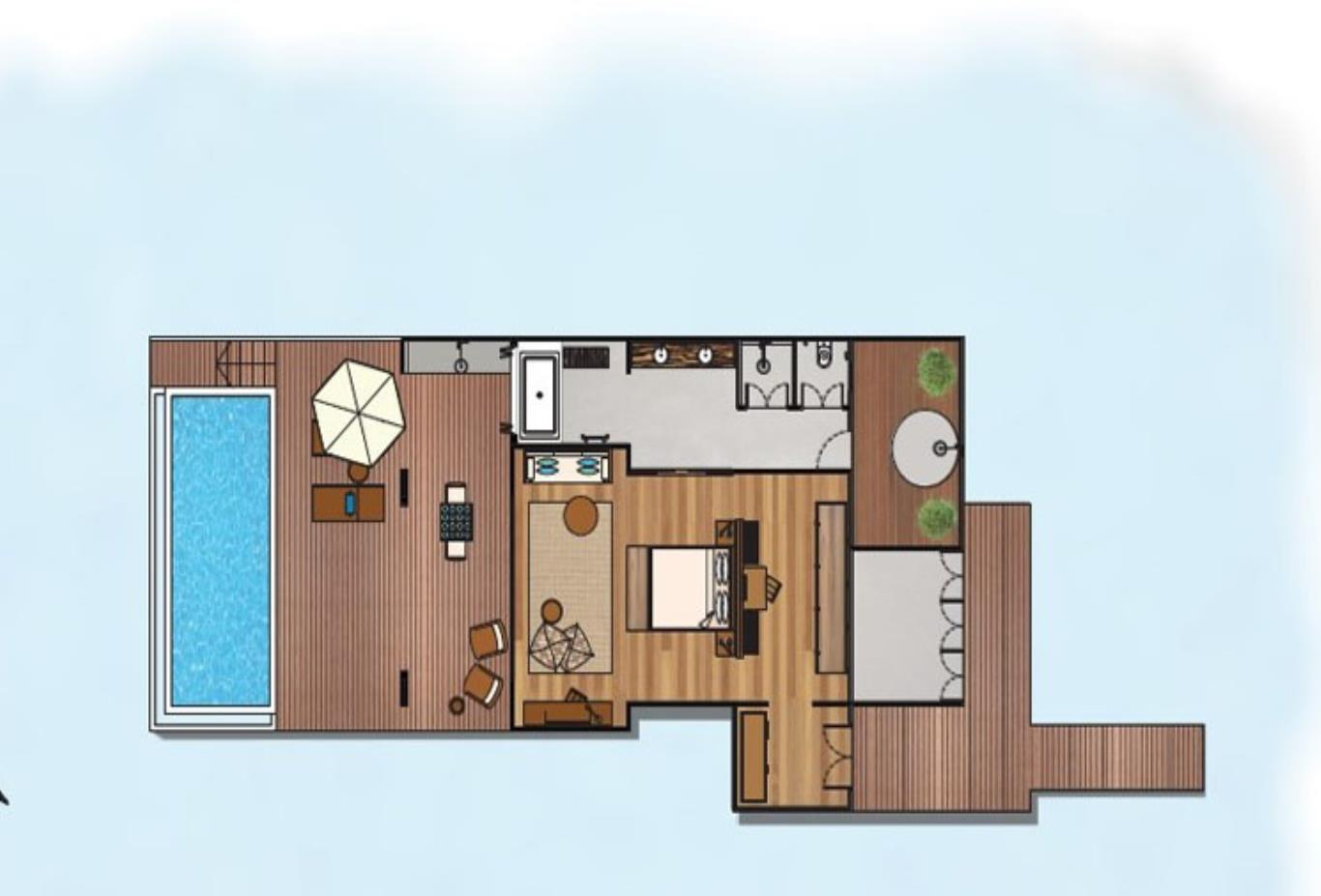 Lagoon House  floorplan