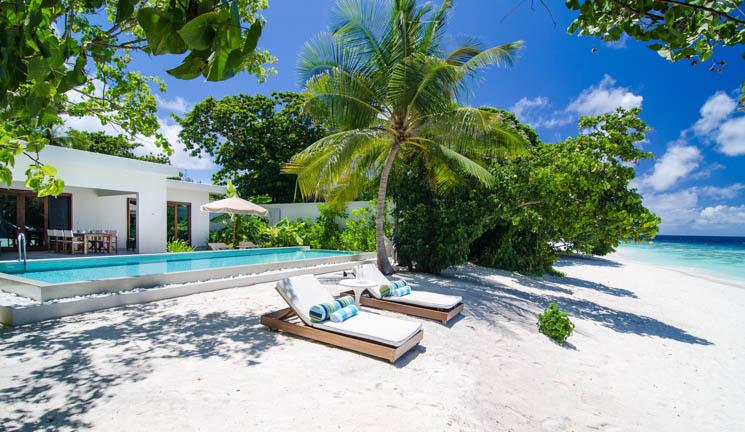 Beach Villa exterior