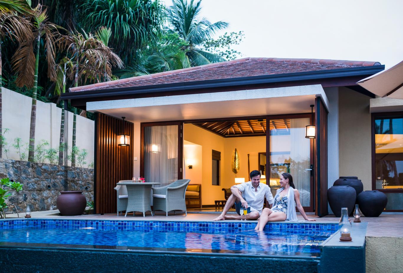 One Bed Pool Villa exterior