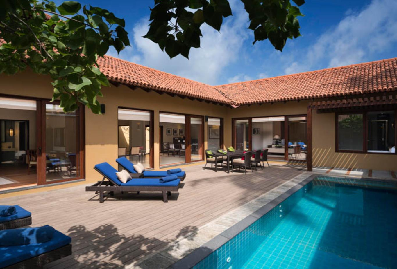 Two Bedroom Villa pool