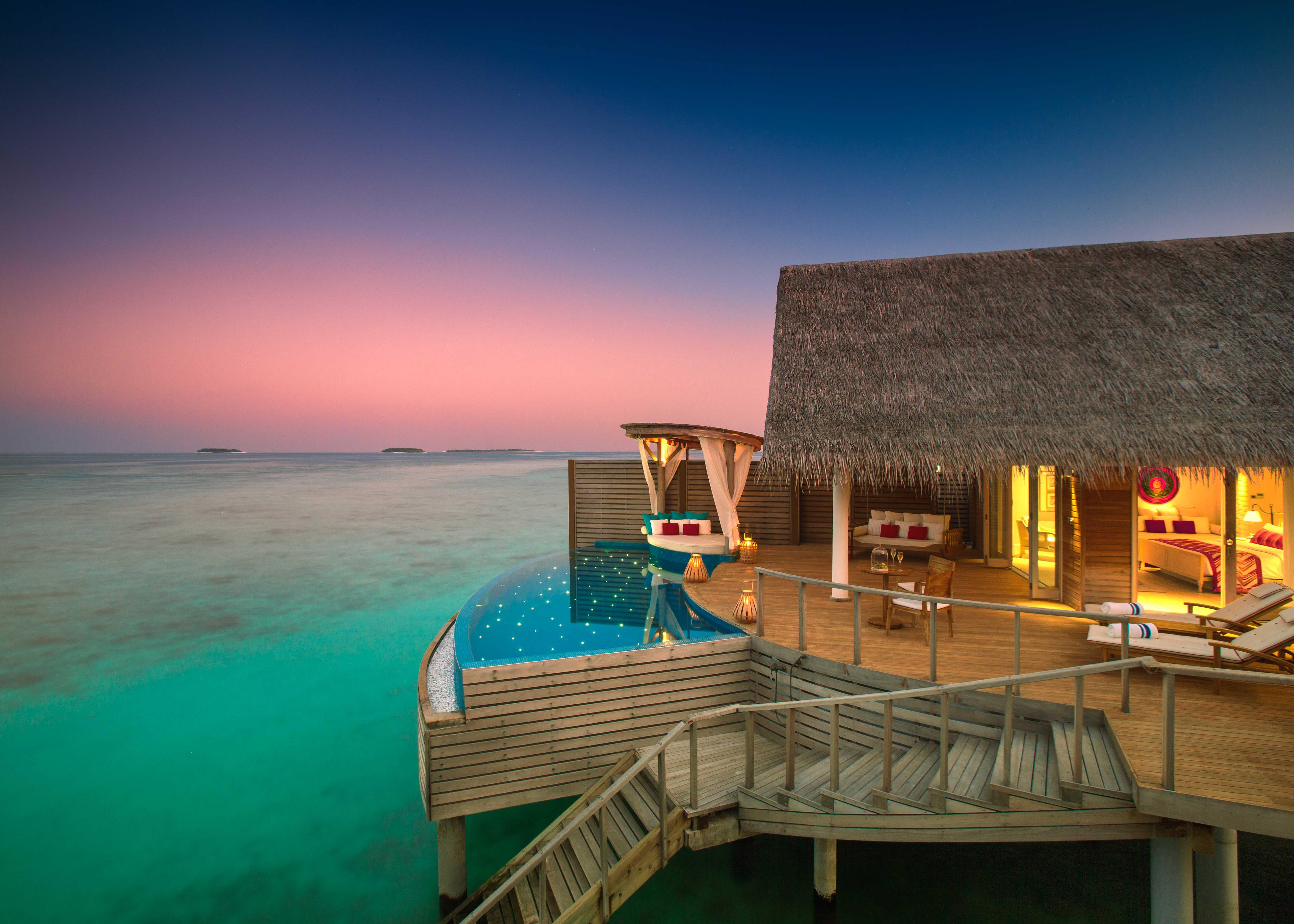 Milaidhoo Maldives Water Pool Villa Exterior