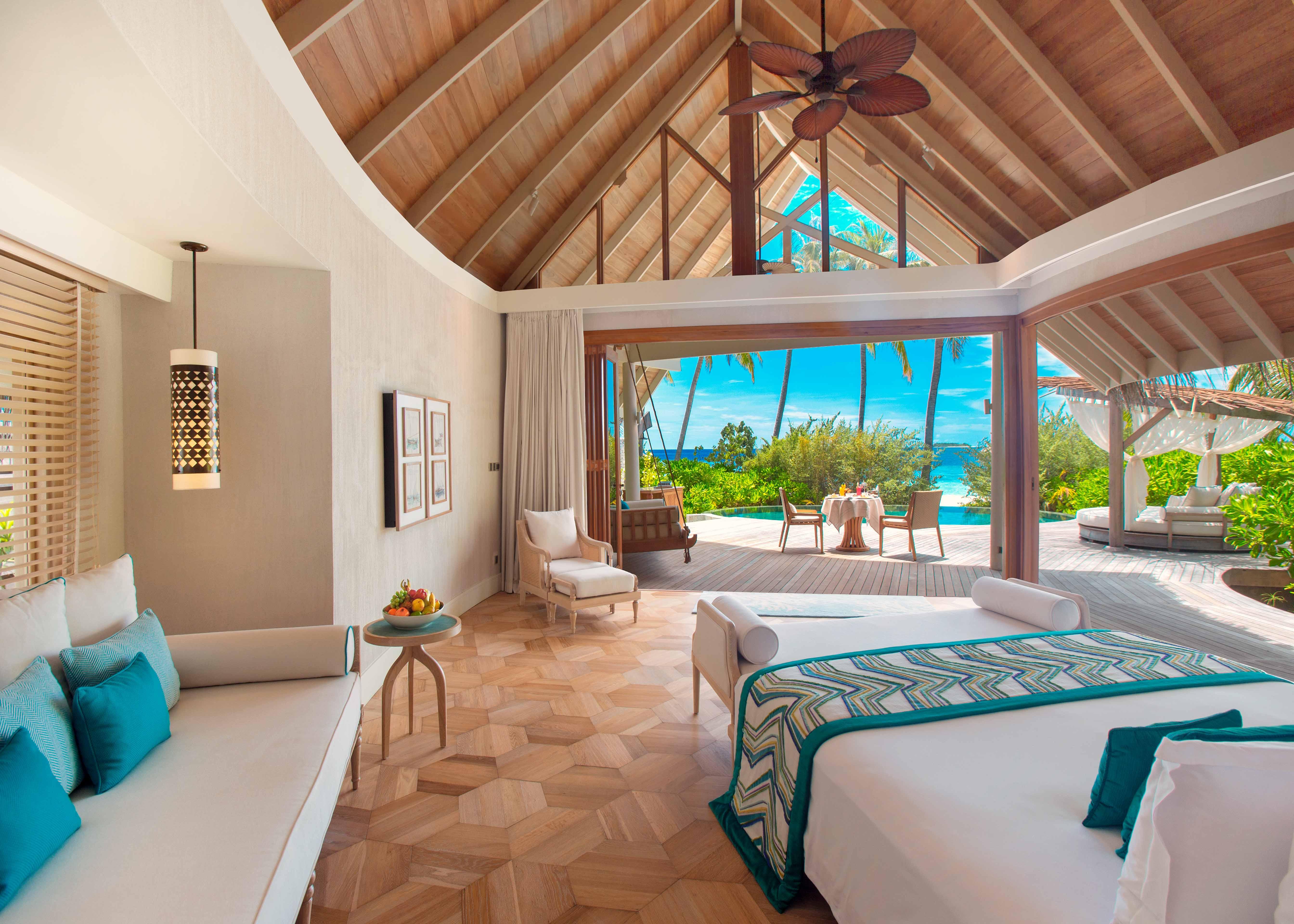 Milaidhoo Maldives Beach Pool Villa Interior