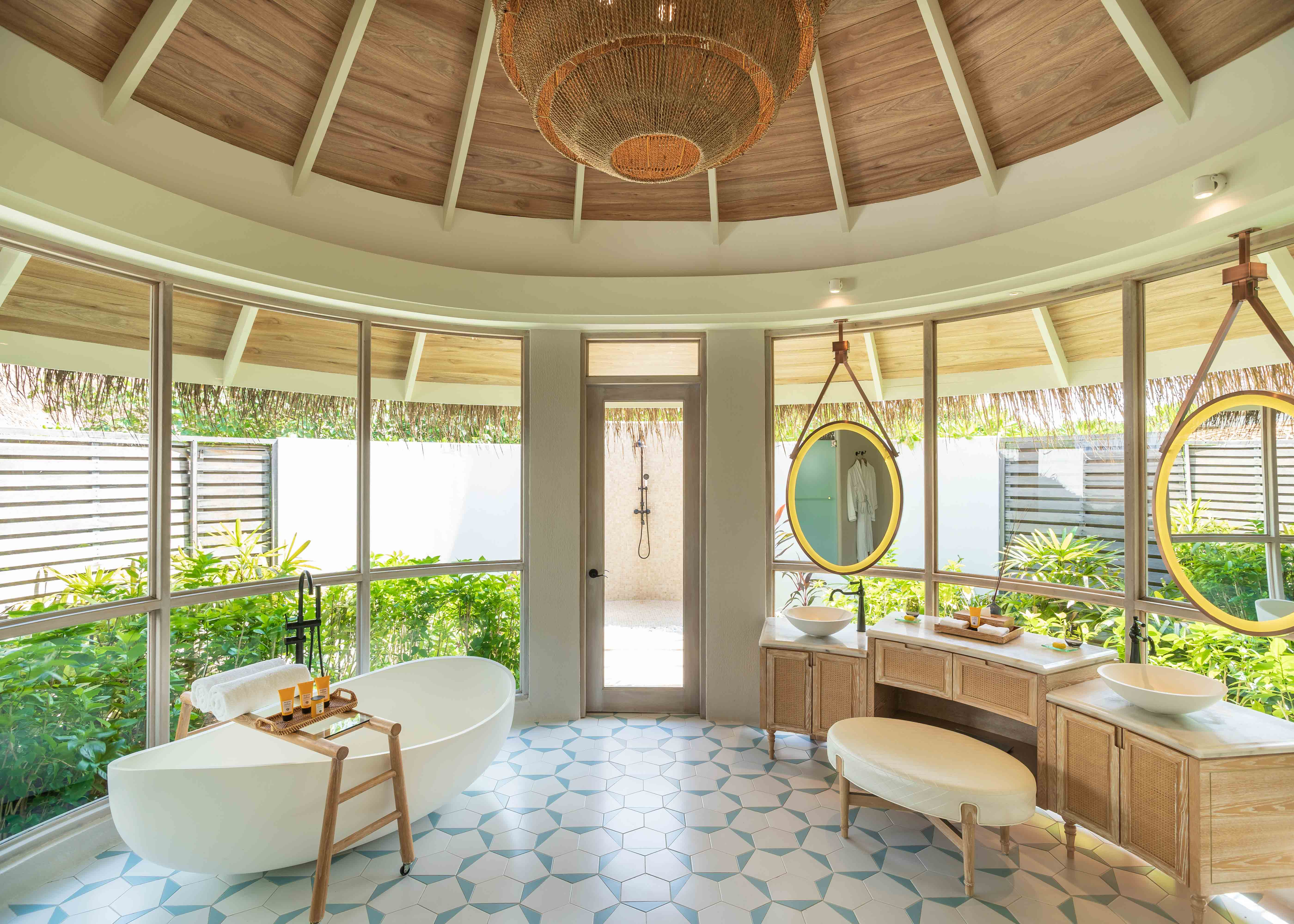 Milaidhoo Maldives Beach Residence Bathroom