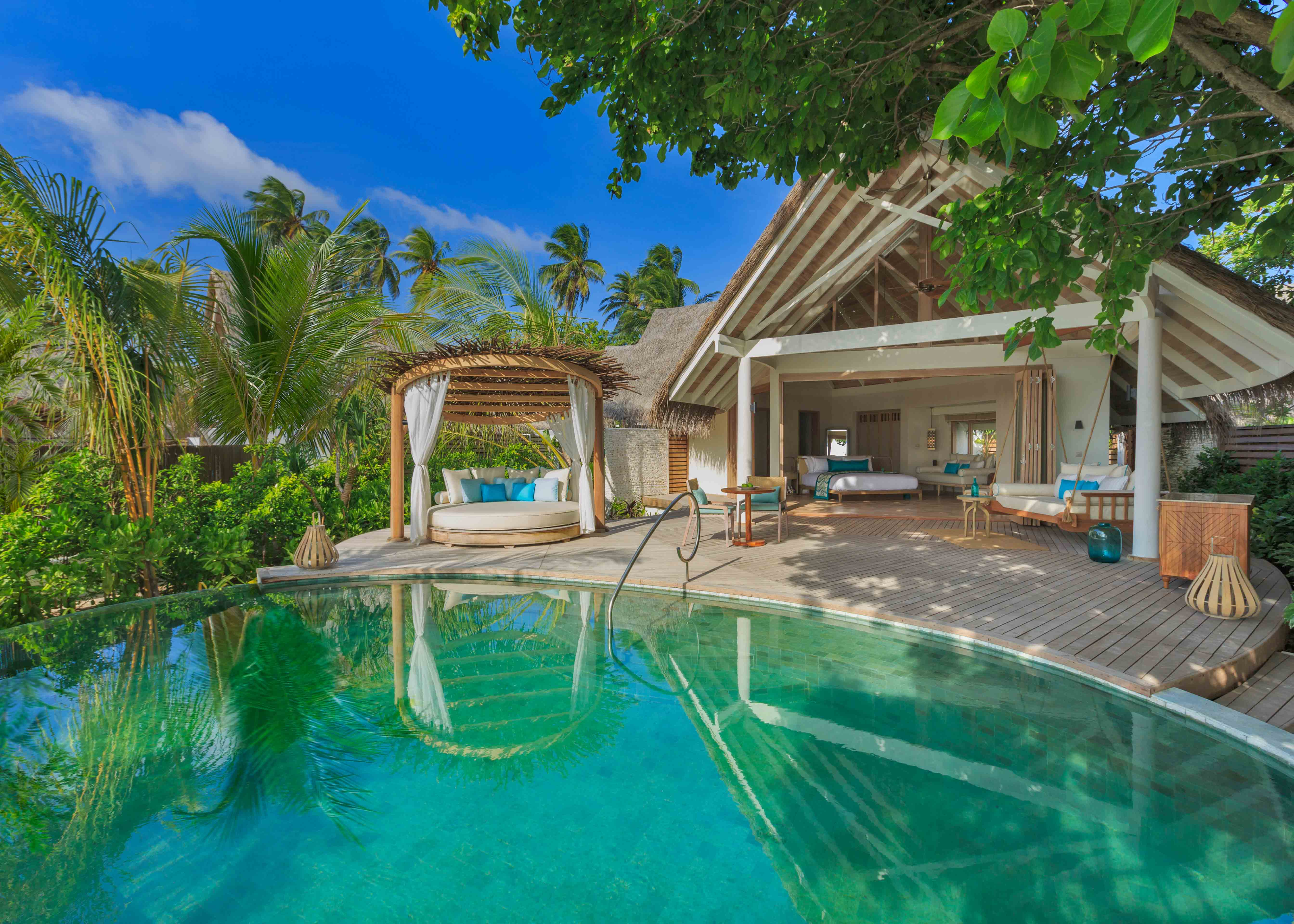 Milaidhoo Maldives Beach Pool Villa Exterior