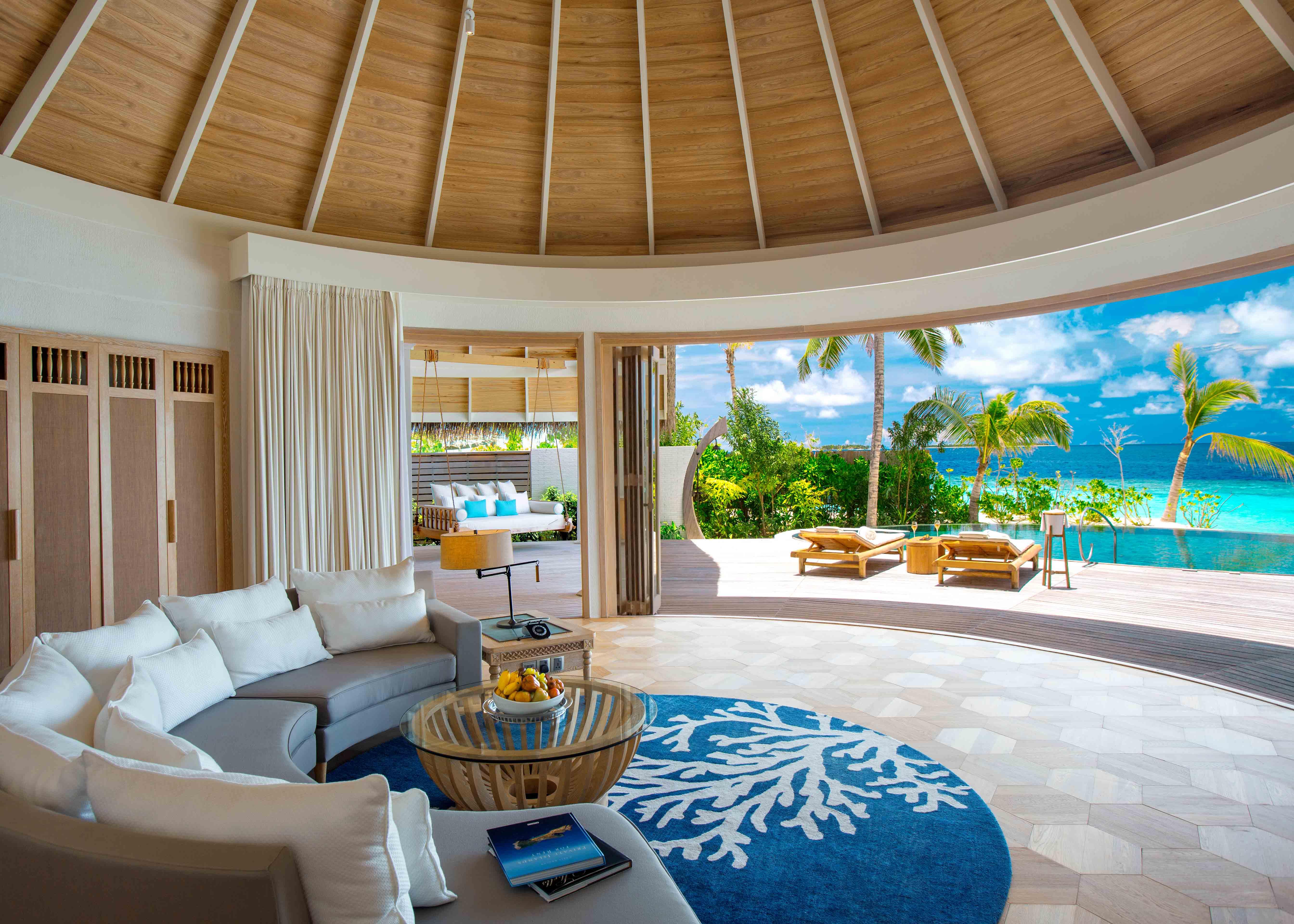 Milaidhoo Maldives Beach Residence Living Room