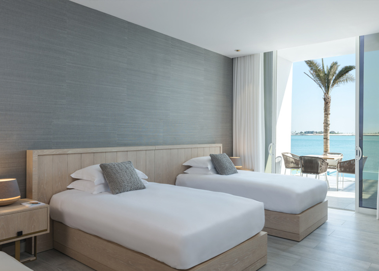 Two bed beach house