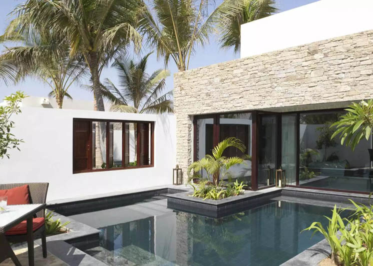 One Bedroom Garden View villa pool