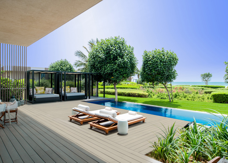 The Oberoi Al Zorah Premium Two Bedroom Villa Pool