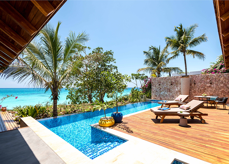 Zuri Zanzibar 3 Bedroom Luxury Villa Terrace