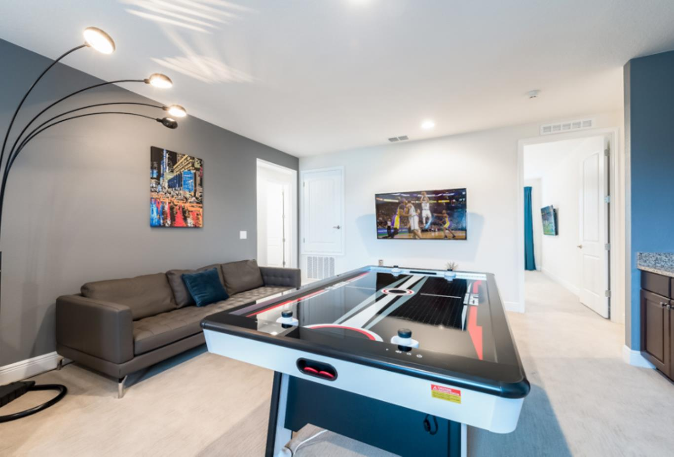 9 bed games room