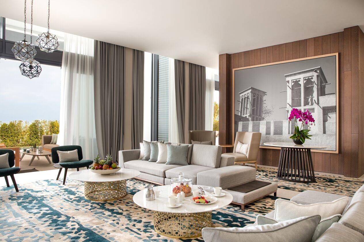 Four Bedrooms Villa   Living Room