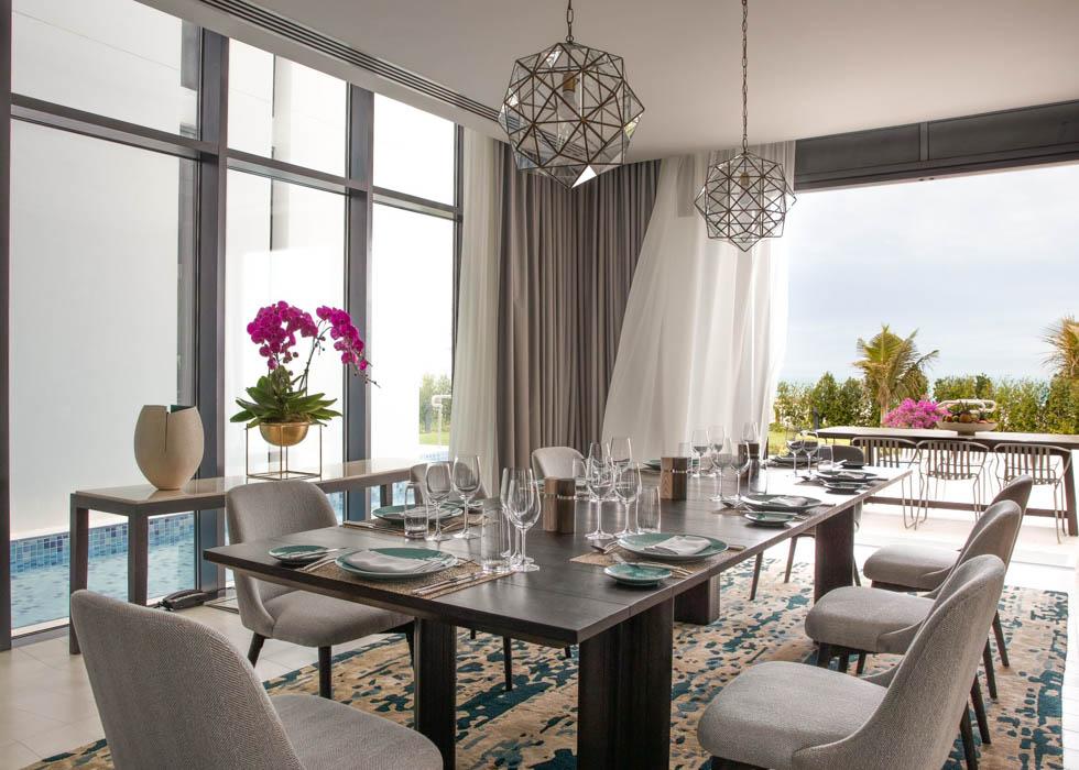 Three Bedroom Villa dining