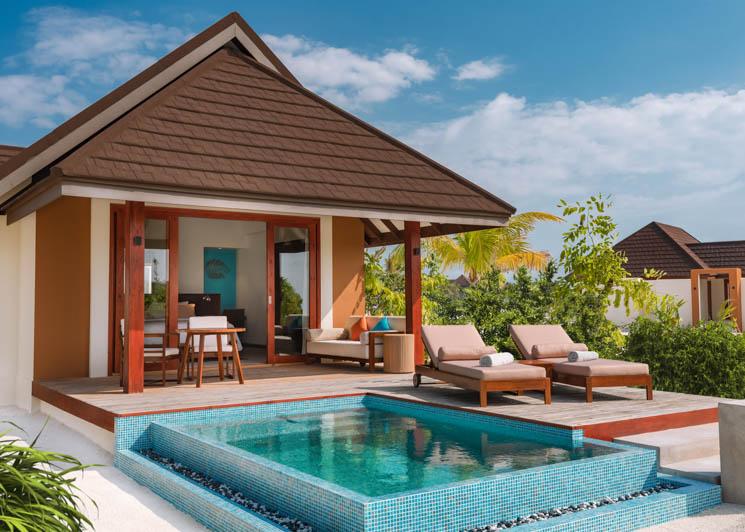 Beach Villa with Pool   Villa Exterior View