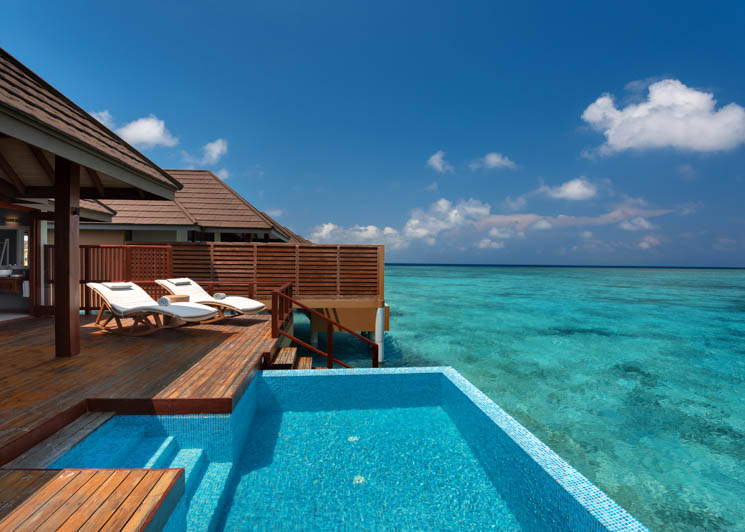 Water Villa with Pool   Deck and Pool View