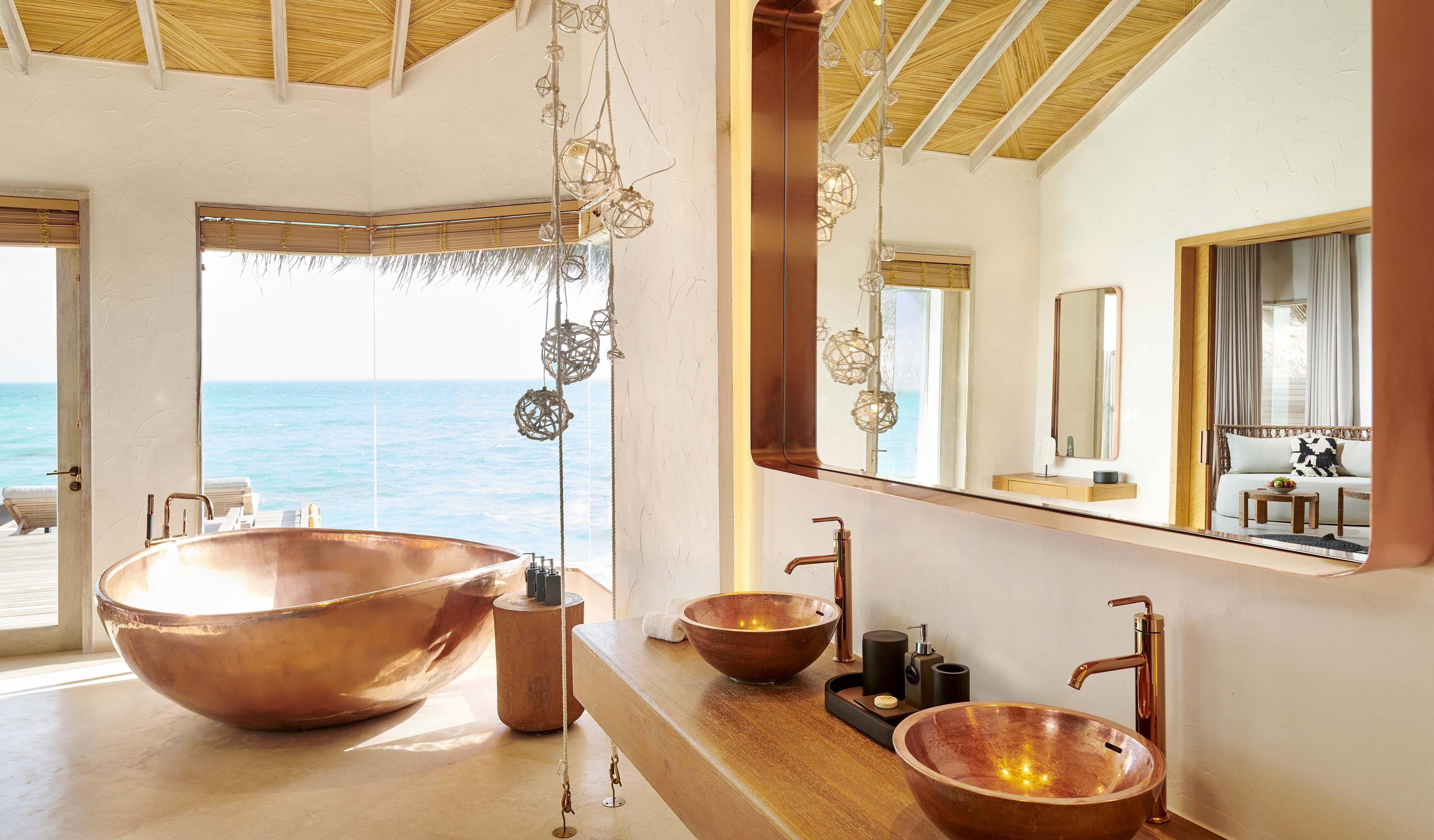 Water Sunrise Villa bathroom