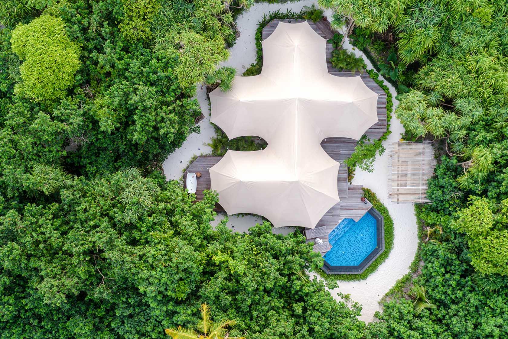 Luxury Tented Jungle Villa