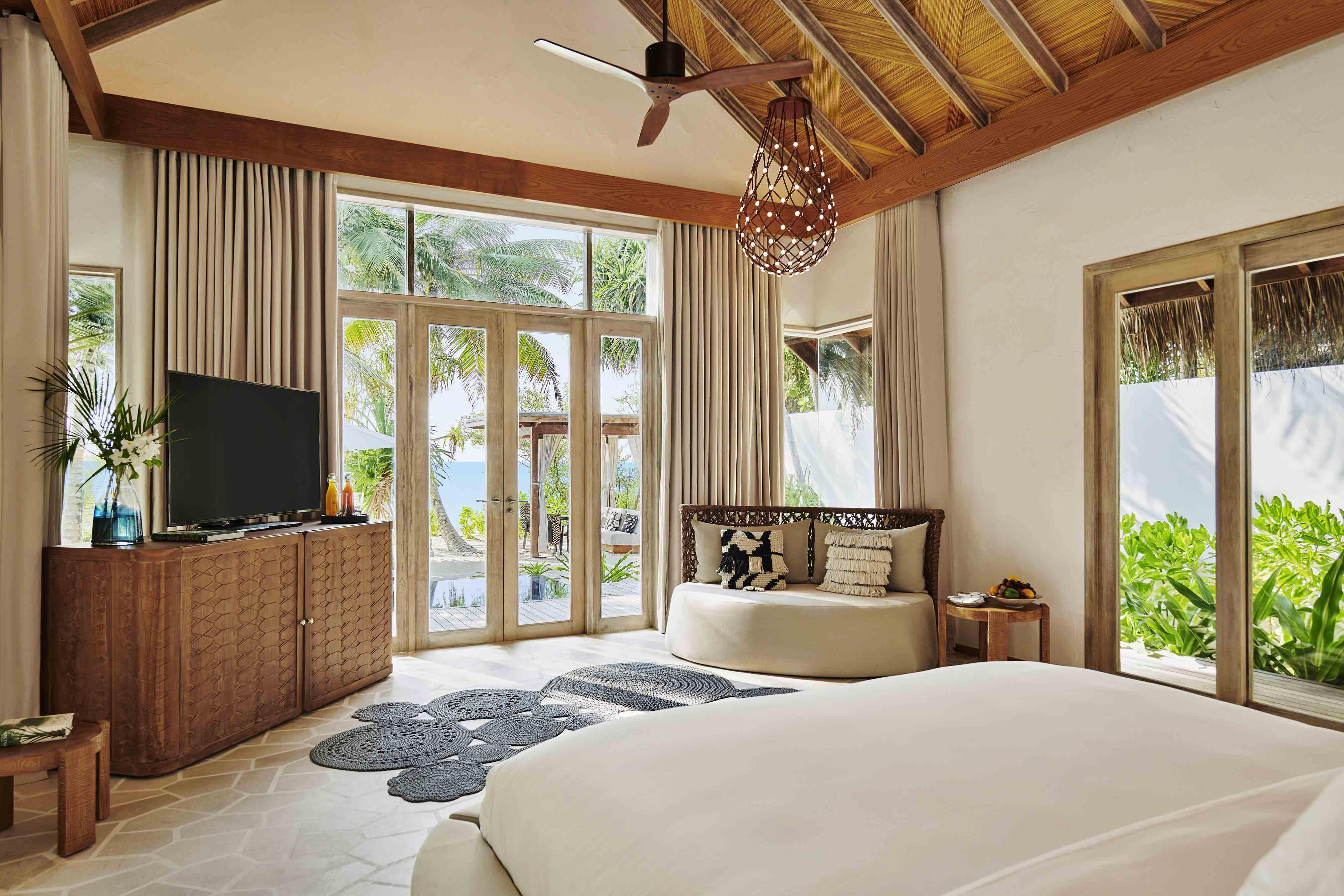 Beach Sunset Villa bedroom