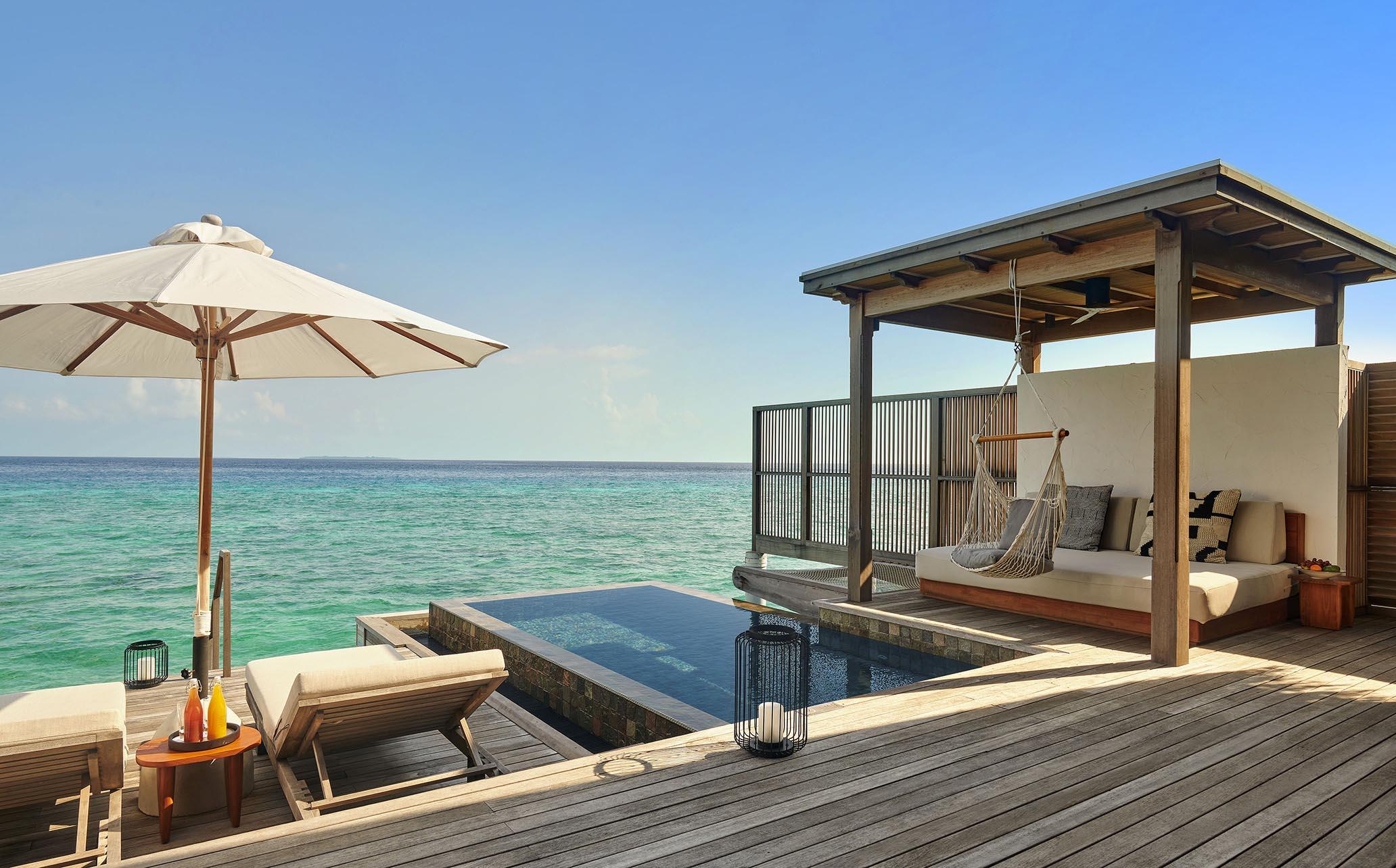 Water Sunrise Villa deck