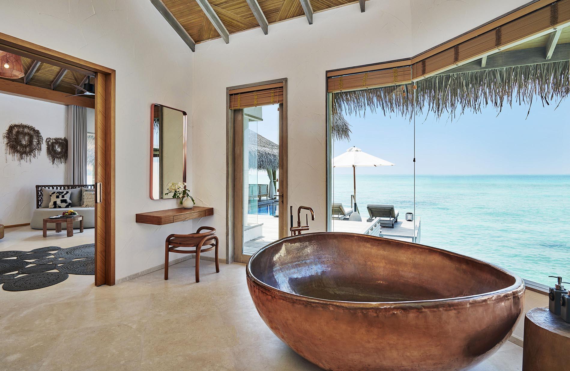 Three Bedroom Water Sunset Villa bathroom