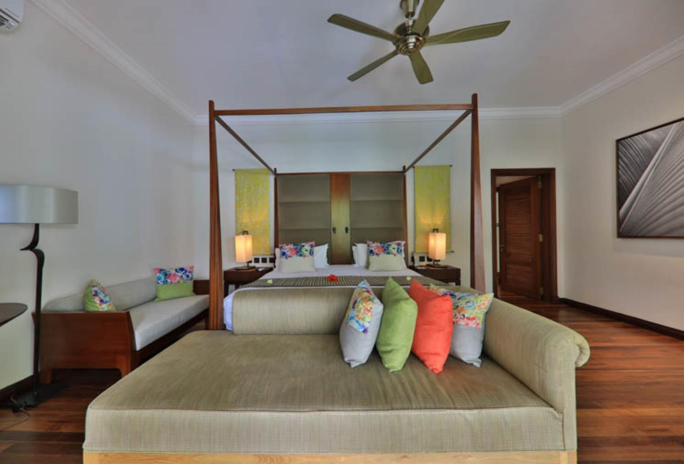 Exclusive Suite Pool Villa bedroom interior