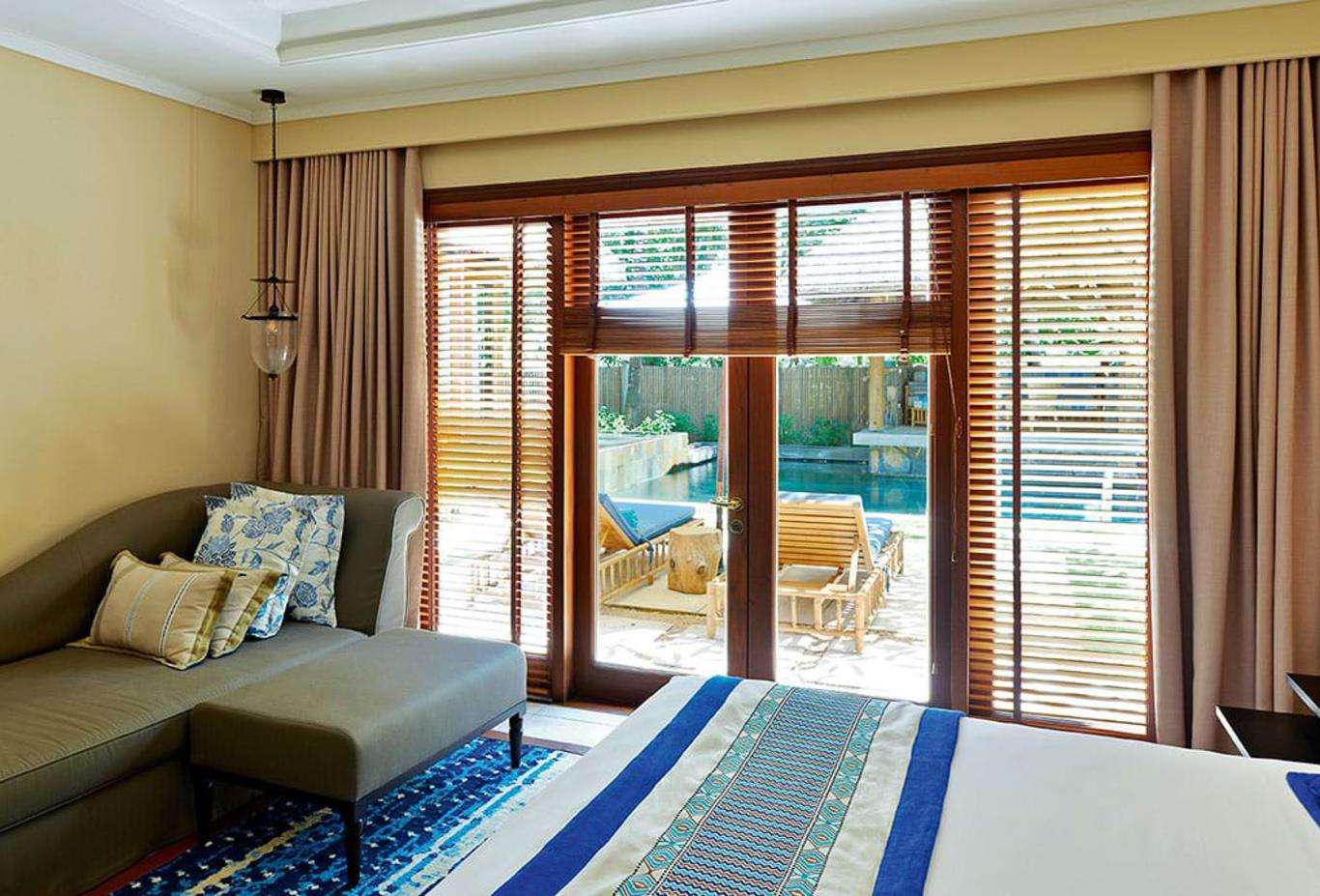 Beach Pool Villa bedroom