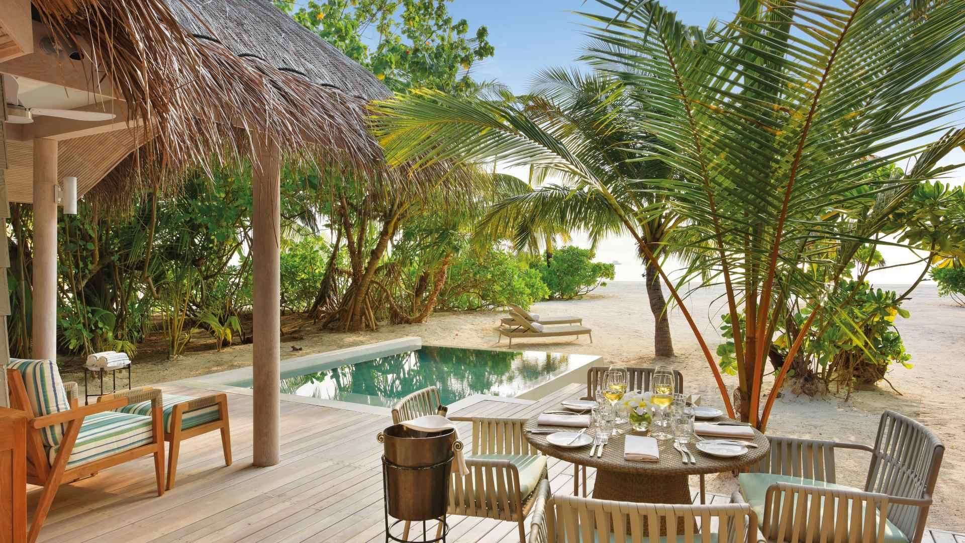 Grand Beach Pool Villa view