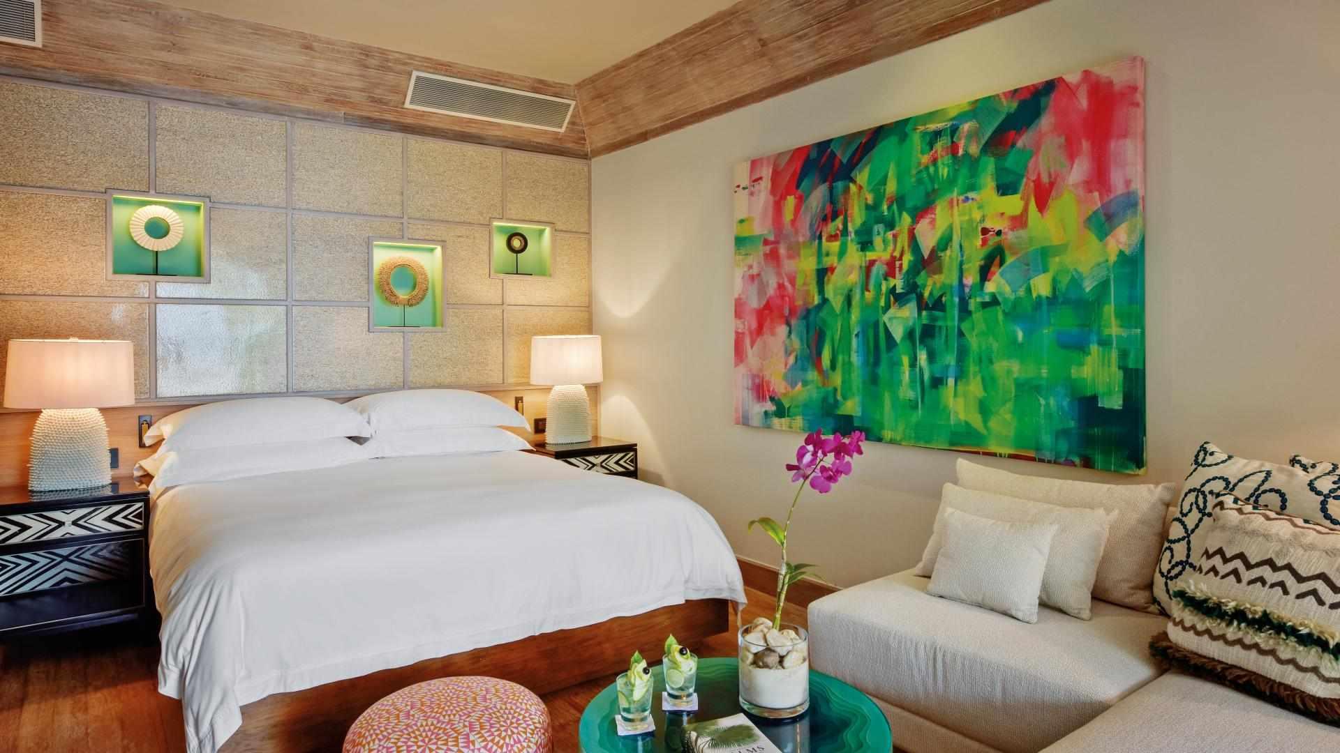 Beach Pool villa bedroom
