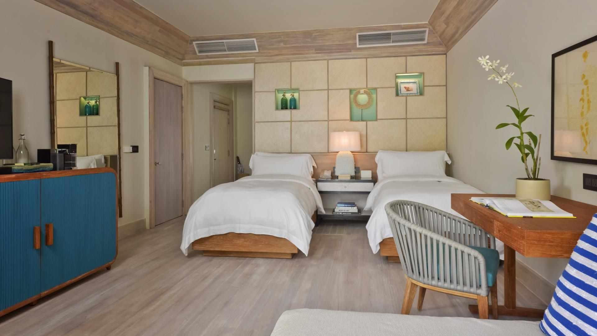 Grand Beach Pool Villa bedroom
