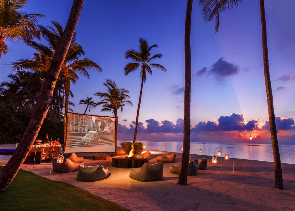 Grand Residence outdoor cinema