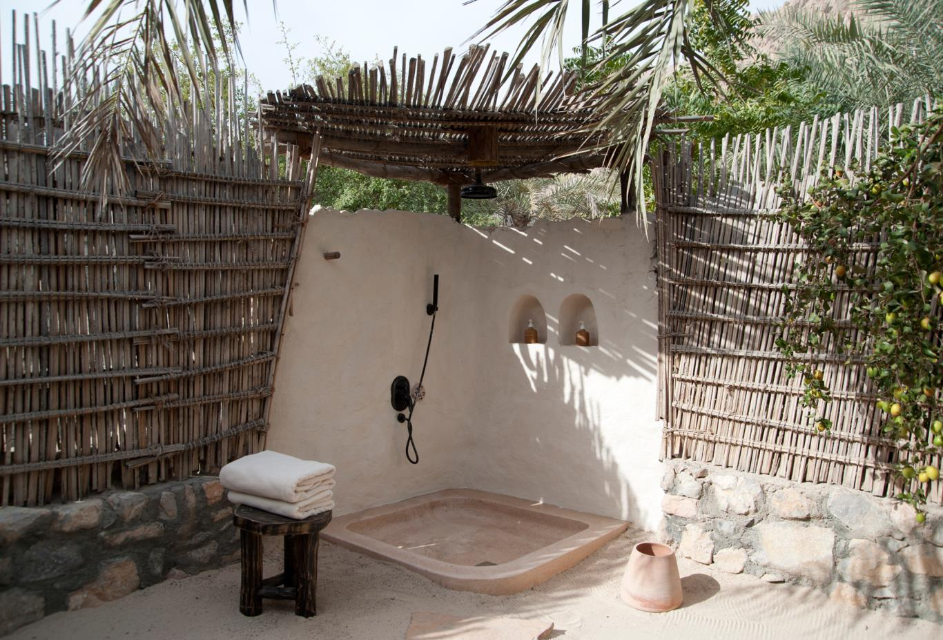Outdoor Villa Shower