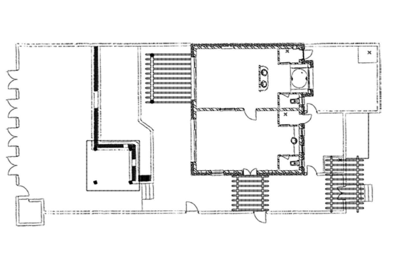 Pool Villa Suite Floorplan