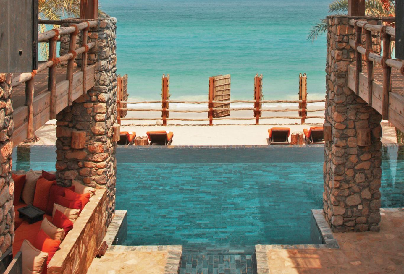 Two Bedroom Beachfront Retreat pool view