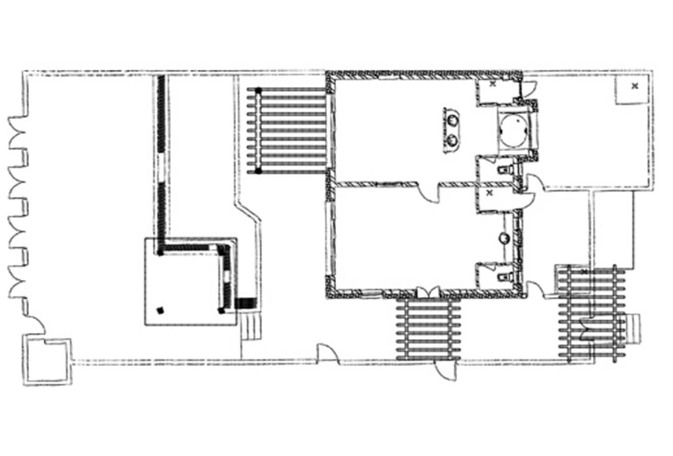 Spa Pool Villa Suite Floorplan