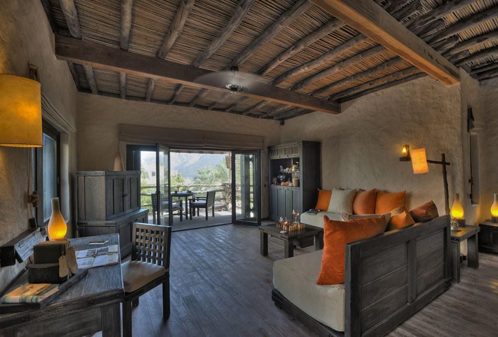 Spa pool villa interior