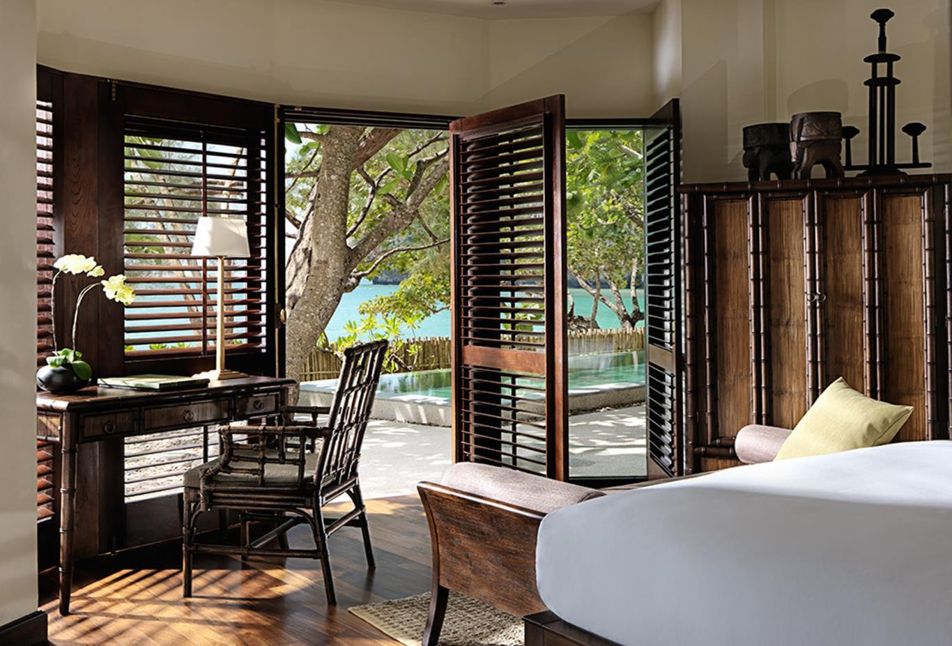 Rayavadee Villa Master Bedroom Suite