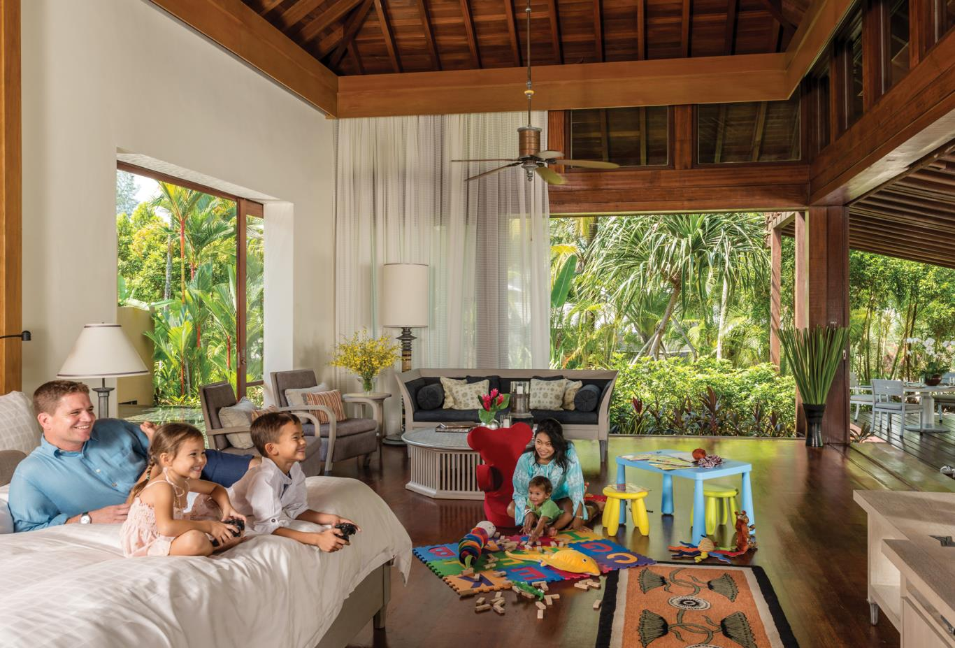 Family-Beach-Villa