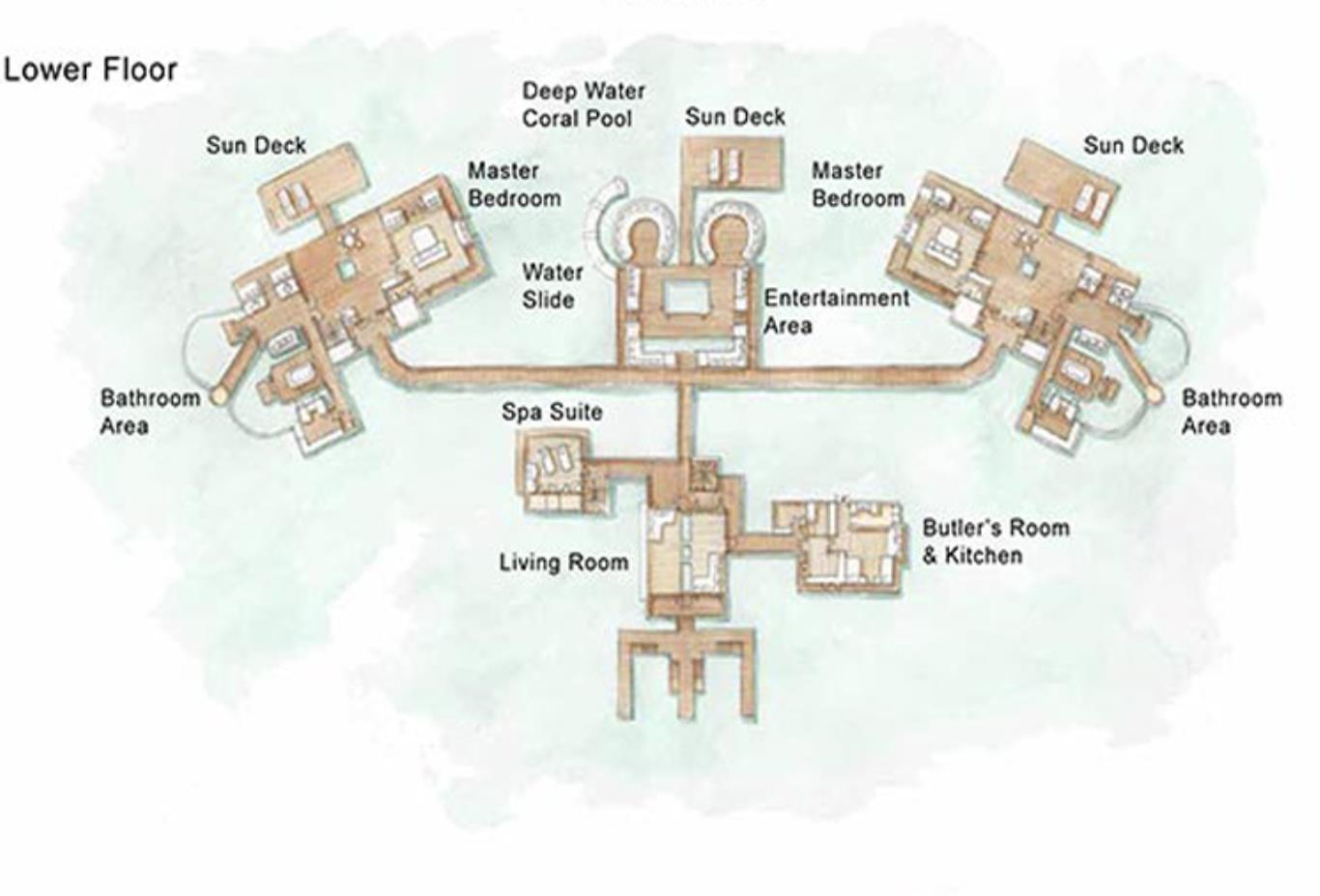 Floorplan The Private Reserve