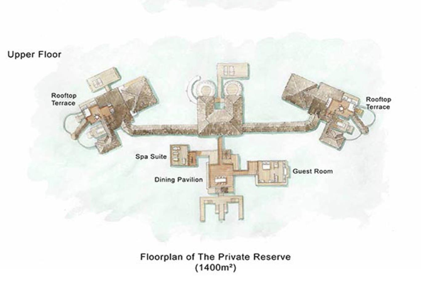 Floorplan The Private Reserve Lower