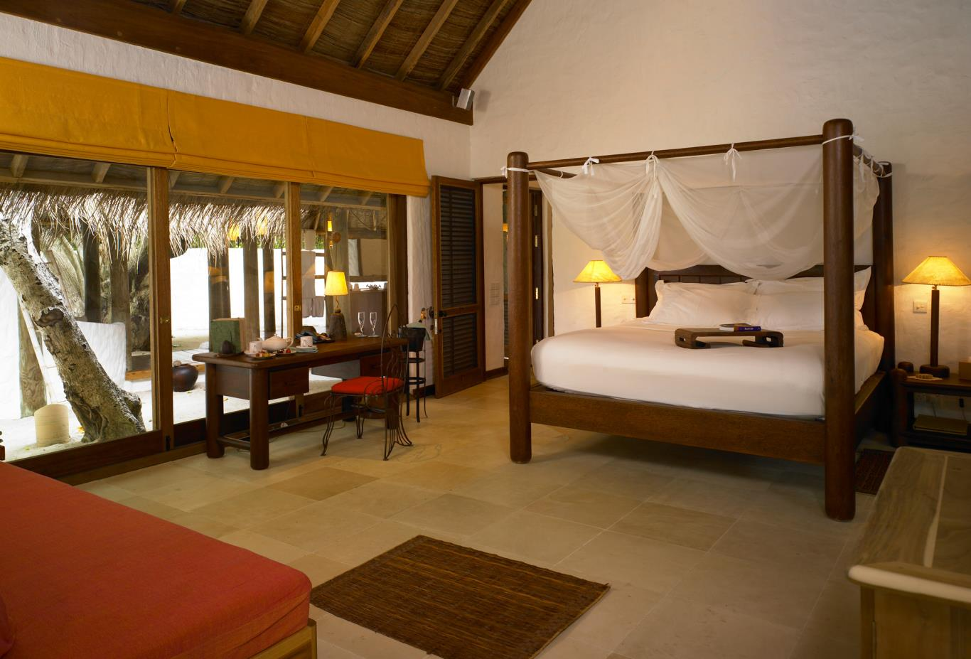 Soneva Fushi Villa Bedroom